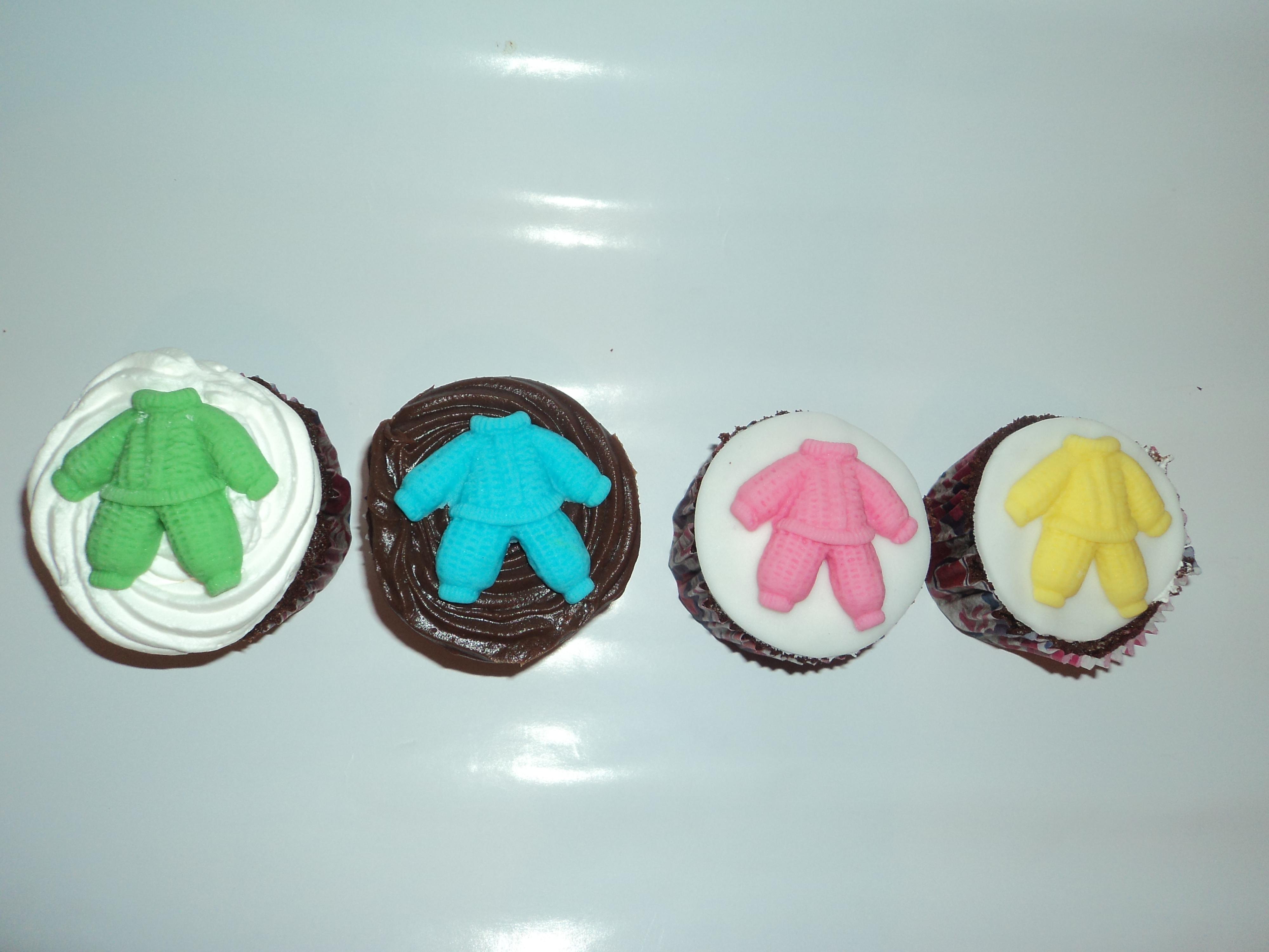 Cupcake Ch   De Bebe Nascimento 07