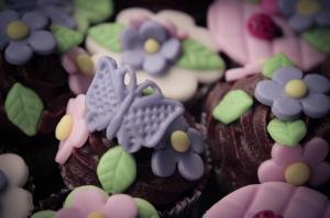Cupcake flor