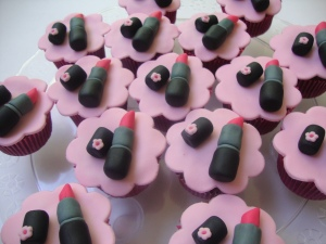 Cupcake maquiagem